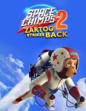 Space Chimps 2: Zartog Strikes Back - DVD cover
