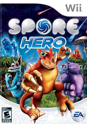 Spore Hero - Image: Spore Hero Coverart