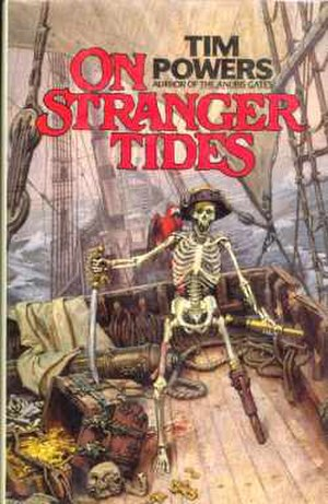 On Stranger Tides - First edition cover.