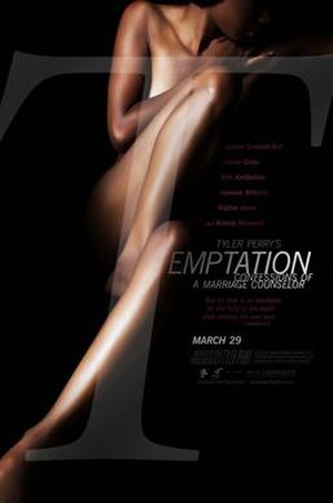 Temptation: Confessions of a Marriage Counselor - Theatrical release poster