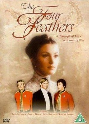 The Four Feathers (1977 film) - DVD cover