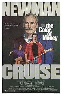 <i>The Color of Money</i> 1986 drama film directed by Martin Scorsese