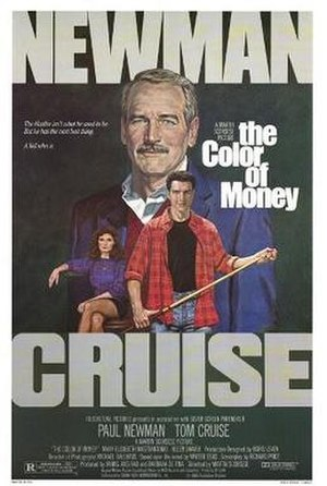 The Color of Money - Theatrical release poster