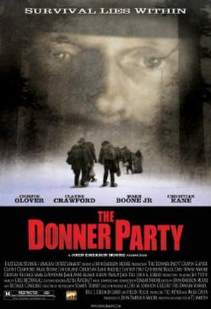 The Donner Party (2009 film) - Theatrical release poster