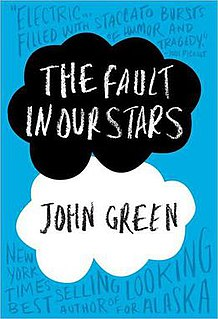 <i>The Fault in Our Stars</i> Book written by John Green