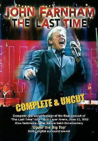 The Last Time (album) - Image: The Last Time (DVD Cover)