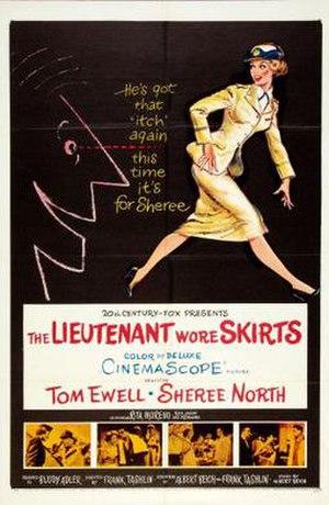 The Lieutenant Wore Skirts - Image: The Lieutenant Wore Skirts