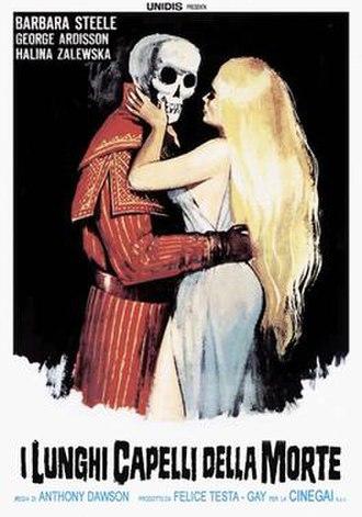 The Long Hair of Death - Original film poster for I lunghi capelli della morte