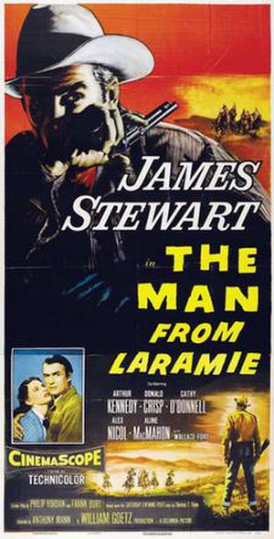 The Man from Laramie - Theatrical release poster