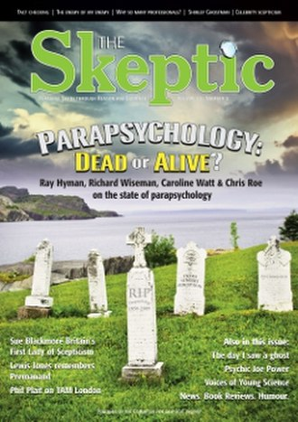 The Skeptic (UK magazine) - The Skeptic cover for Volume 22, Issue 2, 2009: Parapsychology: Dead or Alive?