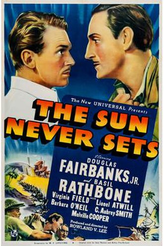 The Sun Never Sets (film) - Image: The Sun Never Sets (film)