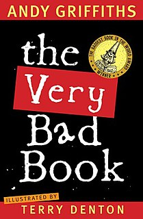 <i>The Very Bad Book</i> Book by Andy Griffiths