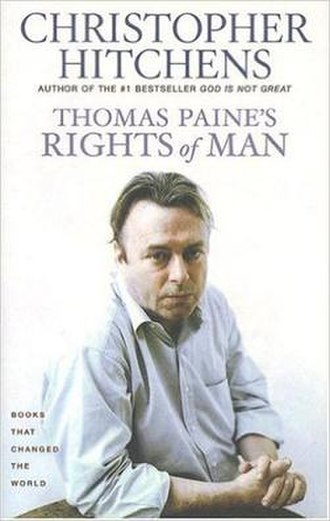 "Thomas Paine's ""Rights of Man"": A Biography - Cover of the first edition"