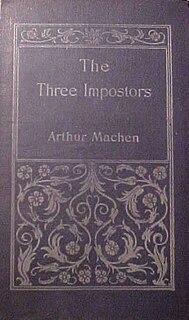 <i>The Three Impostors</i> novel by Arthur Machen