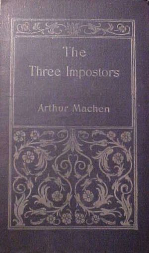 The Three Impostors - Cover of The Three Impostors