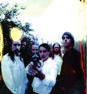 To My Surprise - The last active incarnation of the band. From left to right: Paul Thompson, Steven Robinson, Shawn Crahan, Dorothy Hecht, Wade Thompson, Jarrod Brom