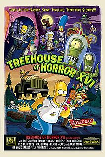 Treehouse of Horror XVI 4th episode of the seventeenth season of The Simpsons