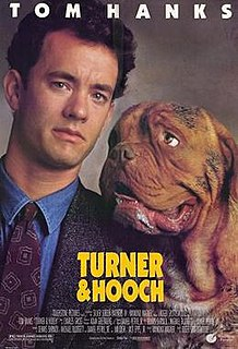 <i>Turner & Hooch</i> 1989 buddy cop film by Roger Spottiswoode