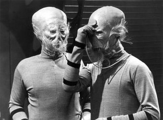 The Sensorites - Image: Two Sensorites in Doctor Who