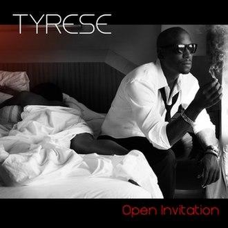 Open Invitation - Image: Tyrese Open Invitation Cover
