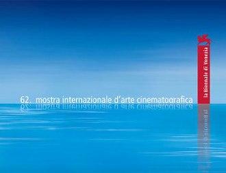 62nd Venice International Film Festival - Festival poster
