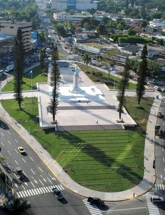 Monumento al Divino Salvador del Mundo - Image: View Of Salvador Del Mundo