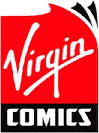 Liquid Comics - Virgin Comics logo