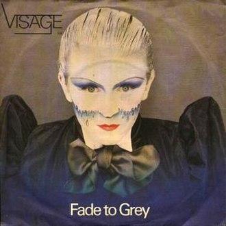 Fade to Grey (Visage song) - Image: Visage Fade To Grey 500