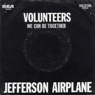 Volunteers (song) - Image: Volunteers (song)