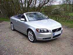 Volvo C70 parts and features
