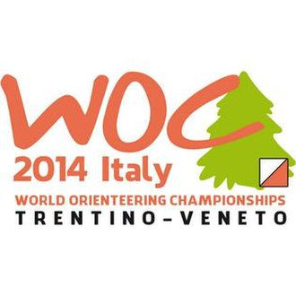2014 World Orienteering Championships - Image: WOC 2014, Official logo