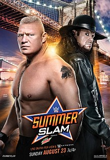 SummerSlam (2015) 2015 WWE pay-per-view and WWE Network event