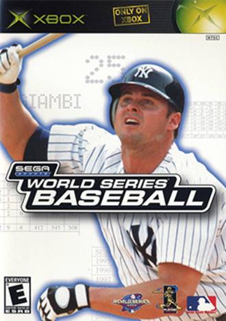 World Series Baseball 2K2 - North American Xbox cover art