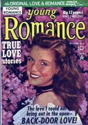 Young Romance - Image: Young Romance Issue 15 (Crestwood Prize)