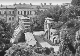 Golden Gate, Kiev - In the 1970s, prior to reconstruction, the Golden Gate still retained its traditional shape, a shape that had been remembered for centuries.
