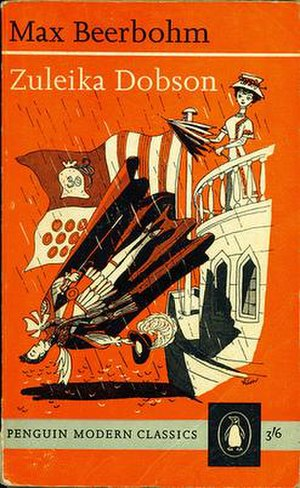 Zuleika Dobson - Cover for Penguin's 1961 edition of Zuleika Dobson. Illustration by George Him