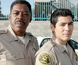 10-8: Officers on Duty - Series stars Ernie Hudson (left) and Danny Nucci