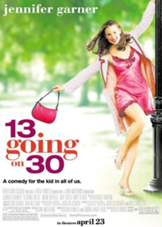 13 Going on 30 - Theatrical release poster