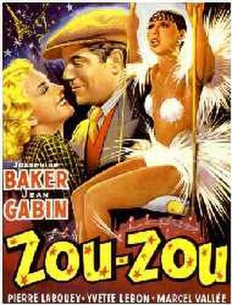 Zouzou (film) - Theatrical release poster
