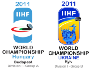 2011 IIHF World Championship Division I - Image: 2011 IIHF World Championship Division I Logo
