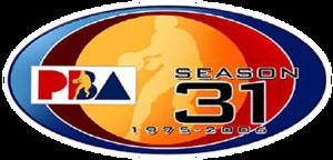 2005–06 PBA season - Image: 31stlogo
