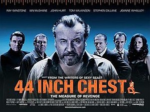 44 Inch Chest - Theatrical Release Poster