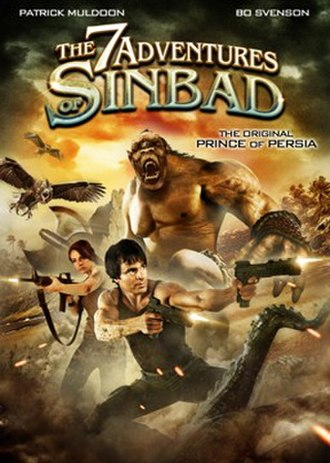 The 7 Adventures of Sinbad - DVD cover