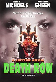 <i>A Letter from Death Row</i> (film) 1998 film by Bret Michaels