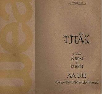 AA UU - Image: Aa Uu Cover
