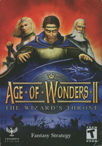 Age of Wonders II: The Wizard's Throne - Image: Age of Wonders II The Wizard's Throne Coverart