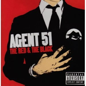 The Red & the Black - Image: Agent 51 The Red & the Black cover