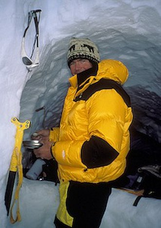 Alex Lowe - Alex Lowe on Annapurna III in 1996.