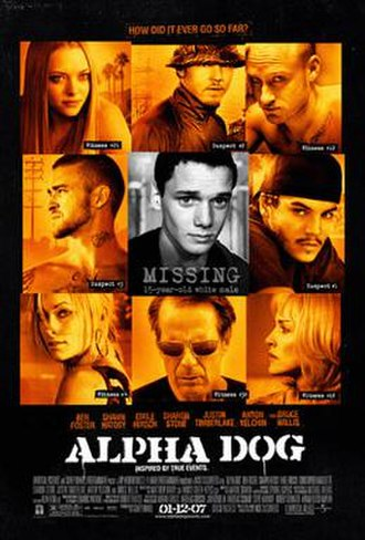 Alpha Dog - Image: Alphadog posterbig