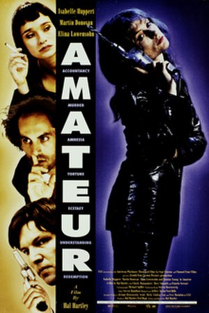 Amateur (film) - Promotional poster for the film